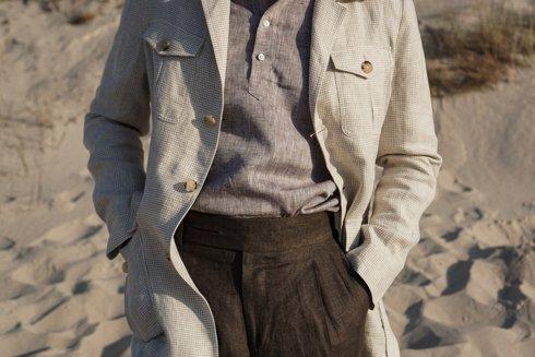 Safari jacket len