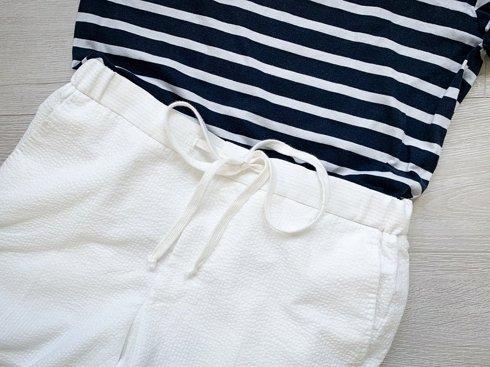 Spodnie z bawełnianej kory