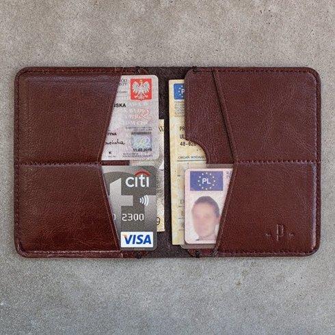 Wiśniowy portfel / Pocket wallet