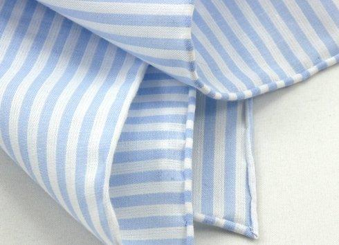 błękit z bielą