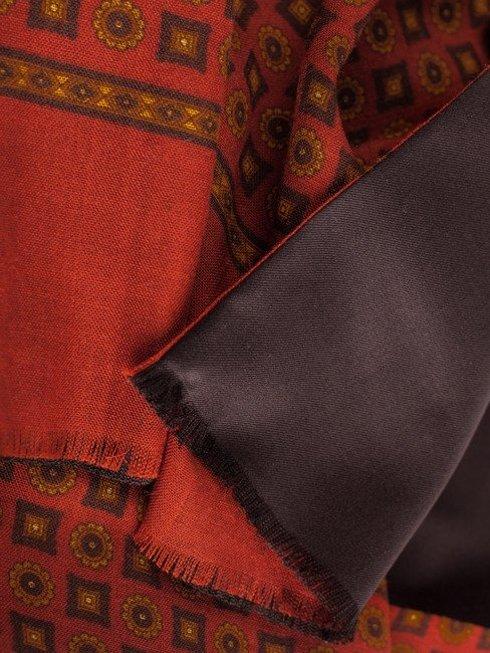 dwustronny elegancki wełniany szal