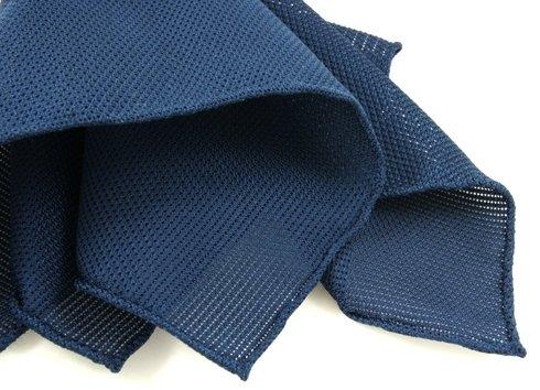 poszetka z grenadyny- niebieski