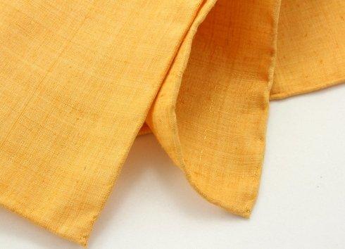 żółty shantung